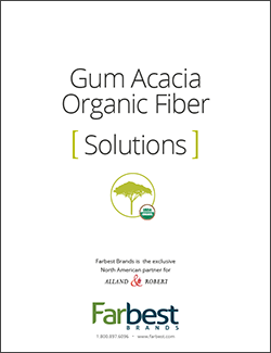 Gum Acacia Organic Fiber Solution -Cover Image